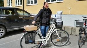 Cissie cyklar #jagmed kick off