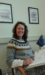 Elisabeth Ask besöker #jagmed