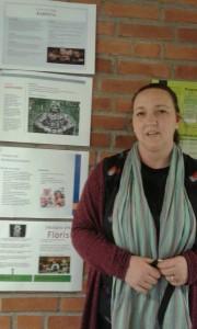 Sara är studie- och yrkesvägledare på Nyhem och mamma till Veckans yrke.