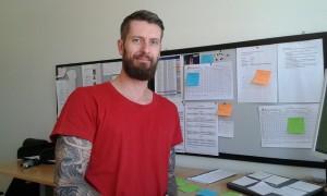 Mathias Andersson är ansvarig för kommunens alla sommarjobbare.
