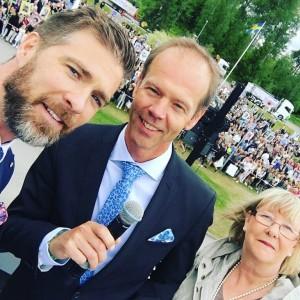 Rektorer David Rytter, Mikael Örning och Anne-Maj Kihlstrand