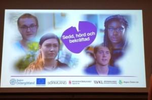 De fyra ungdomar som medverkar i filmen samt filmens viktigaste budskap: att få bli sedd, hörd och bekräftad!