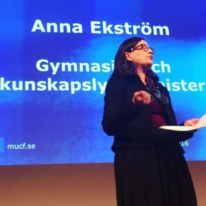 Anna Ekström var tidigare generaldirektör för Skolverket.