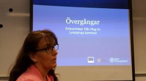 Malin Hammargren från projekt Plug In